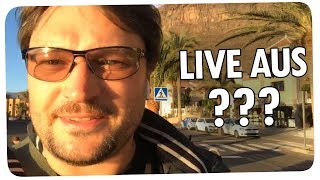 Robert live aus ??? + Auflösung des Preisrätsels | Facebook Live