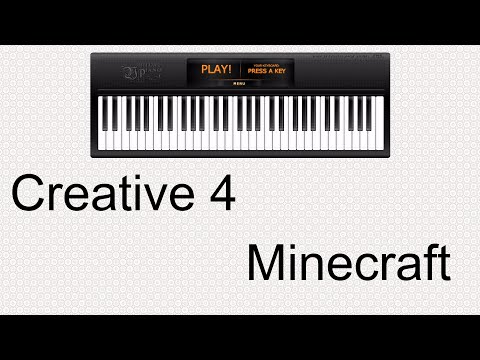 Creative 4 - Piano Cover [Minecraft Music]