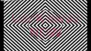LSD trip eye effects