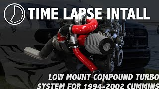 Time Lapse Install - 1994-2002 Pusher Compound Turbo System for Cummins