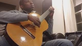 Restrung Classical Guitar with La Bella 2001 medium strings