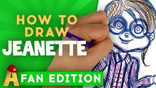 How To Draw Jeanette | The Chipmunks Channel