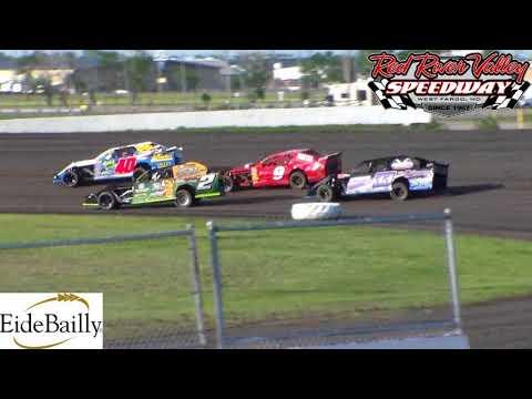 Red River Valley Speedway IMCA Sport Mod Heats (6/1/18)