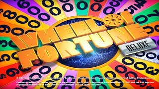 Wheel Of Fortune Deluxe (2007) {PC Gameplay} [1080p]