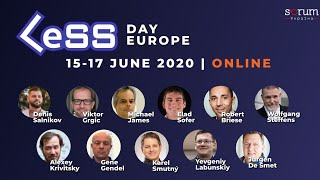 LeSS Day Europe 2020 - Panel Discussion with Speakers
