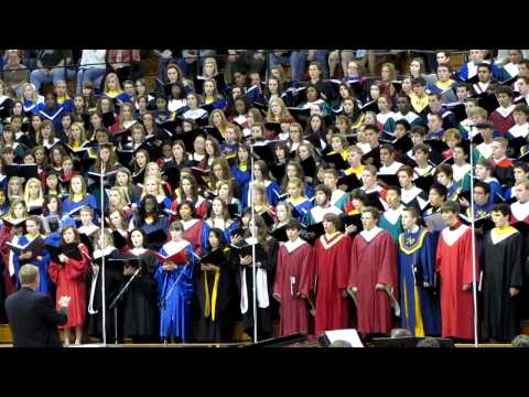 2011 IMEA District 9 - Sure on this Shining Night - Morton Lauridsen.MOV