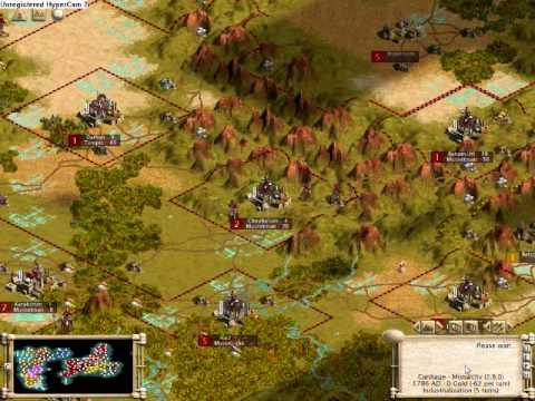 Let's Play Sid Meier's Civilization 3 Gold Edition (Part 40) New Game |