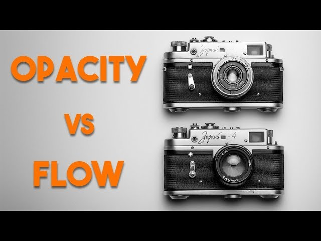 The Difference Between Opacity and Flow in Photoshop
