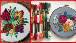 Beautiful and stunning hand embroidery unique patterns design