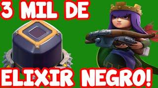 3000 MIL DE ELIXIR NEGRO! + Ataque Na Liga Master | Jogando Clash Of Clans #5