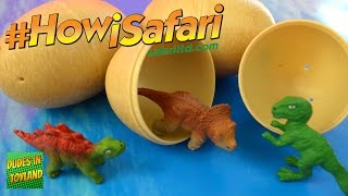 Toy dinosaur eggs by Safari Ltd. #howisafari baby dino in an egg videos for kids