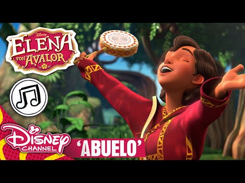 elena-von-avalor---🎶-song:-abuelo-🎶-|-disney-channel-songs
