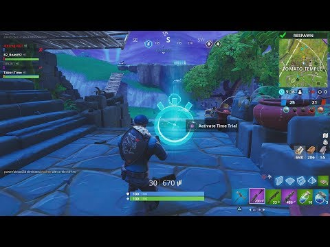 """""""Complete Timed Trials"""" - How To Actually Do The 3 Timed Trials In Fortnite (Week 3 Time Trials)"""