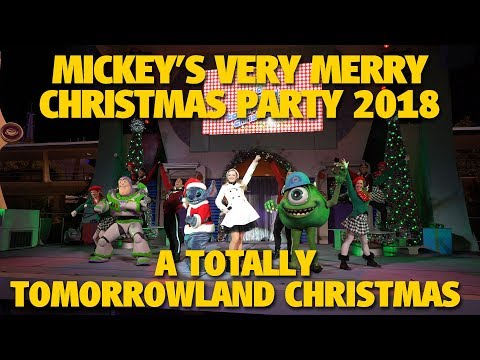 A Totally Tomorrowland Christmas 2018 | Walt Disney World Resort