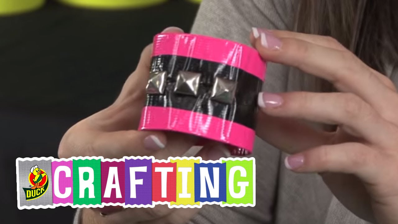 How To Craft A Duct Tape Bracelet