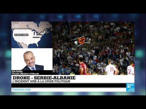 """Incidents Serbie – Albanie : """"Tout le stade chantait 'Mort aux Albanais'"""" - FOOTBALL"""