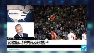 Incidents Serbie ? Albanie :