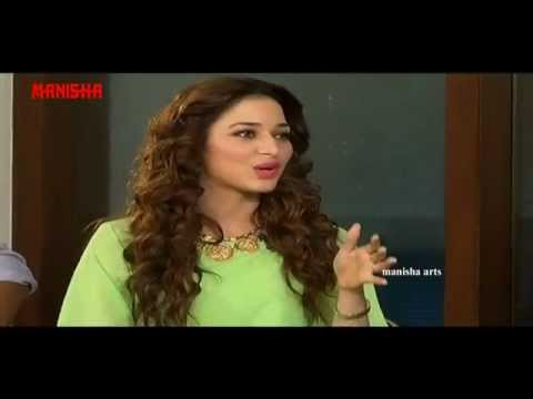 Tamannaah Bhatia Sings Pacha Bottesina Song - Baahubali Exclusive Interview - Prabhas, Rana