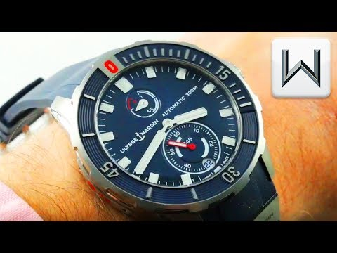 2018 Ulysse Nardin Diver Chronometer (1183-170-3/93) Luxury Watch Review