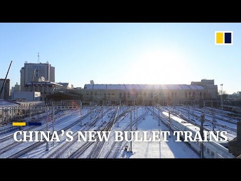 China's new bullet trains unveiled as high-speed railway network grows Mp3