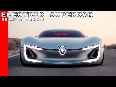 Renault TREZOR Electric Supercar Concept