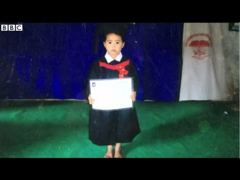 【BBC】 人身売買 ミャンマーから売られる女の子