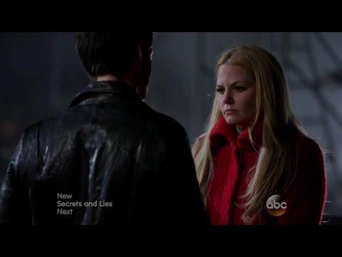 Once Upon a Time S04E17 - Hook/Emma Hug Scene / Hook Comforts Emma