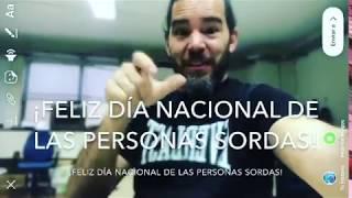 Día Nacional de las Personas Sordas 2018