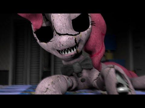 [SFM/PONY/FNAF] (Five Nights at pinkies 4) my little pony- MONSTER