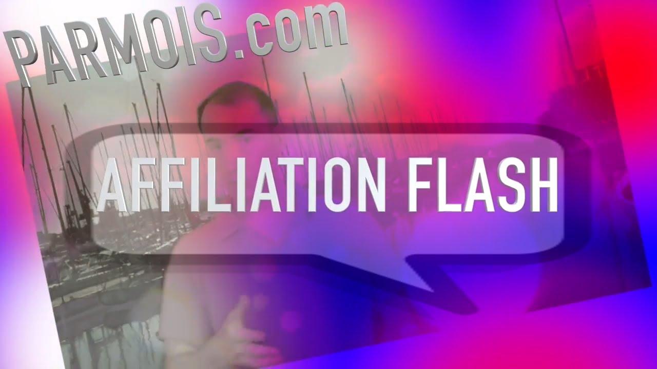 Formation Affiliation Flash de Sylvain Milon (1TPE)