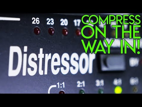 Hardware vs Software compression & HOW TO get an AWESOME snare sound!