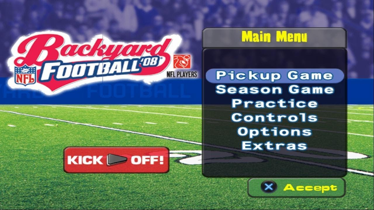 Backyard Football '08 | PS2 | HD | PCSX2 - YouTube