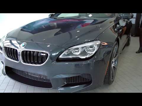 New BMW M6 Convertible in Singapore gray metallic/Exhaust Sound/BMW Review