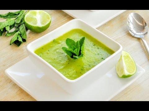 Cookbook Announcement + Pea & Mint Soup Recipe | Tastefully Vikkie