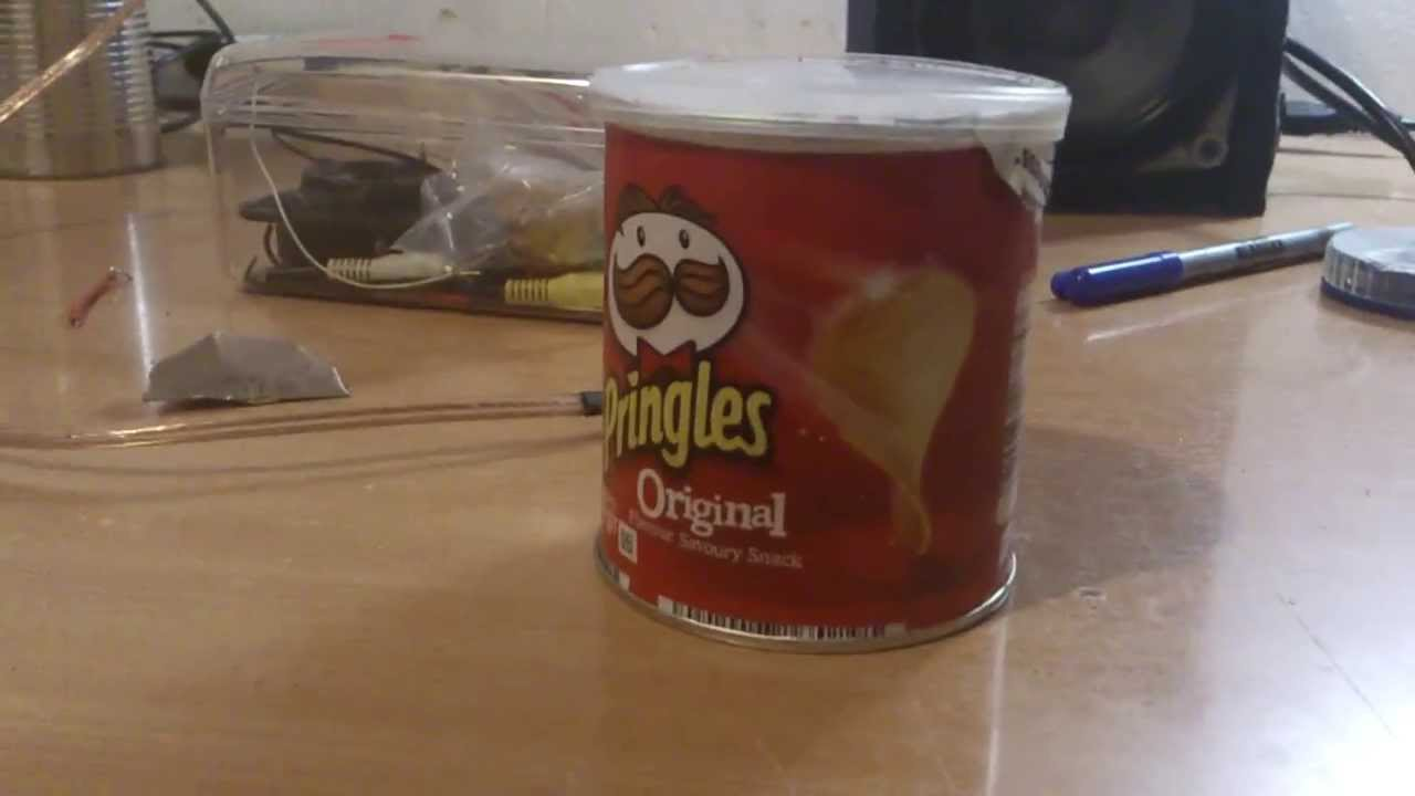 how to make pringles speaker