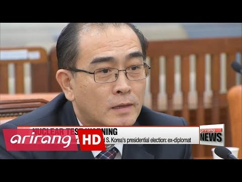 N.Korea to test nuclear bomb around S. Korea's presidential election: ex-diplomat