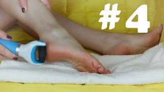 4 Педикюр в домашних условиях | Уход за ножками | ЧЕЛЛЕНДЖ! ВЫЗОВ ПРИНЯТ! #станьлучшеза30дней