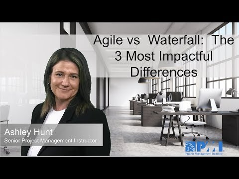 Agile Vs  Waterfall:  The 3 Most Impactful Differences