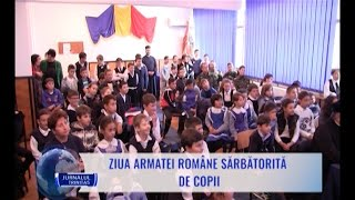 Ziua Armatei Române sărbătorită de copii