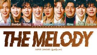 Download SUPER JUNIOR The Melody Lyrics (슈퍼주니어 우리에게 가사) [Color Coded Lyrics Han/Rom/Eng]