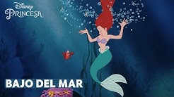 Bajo del Mar con letra La Sirenita