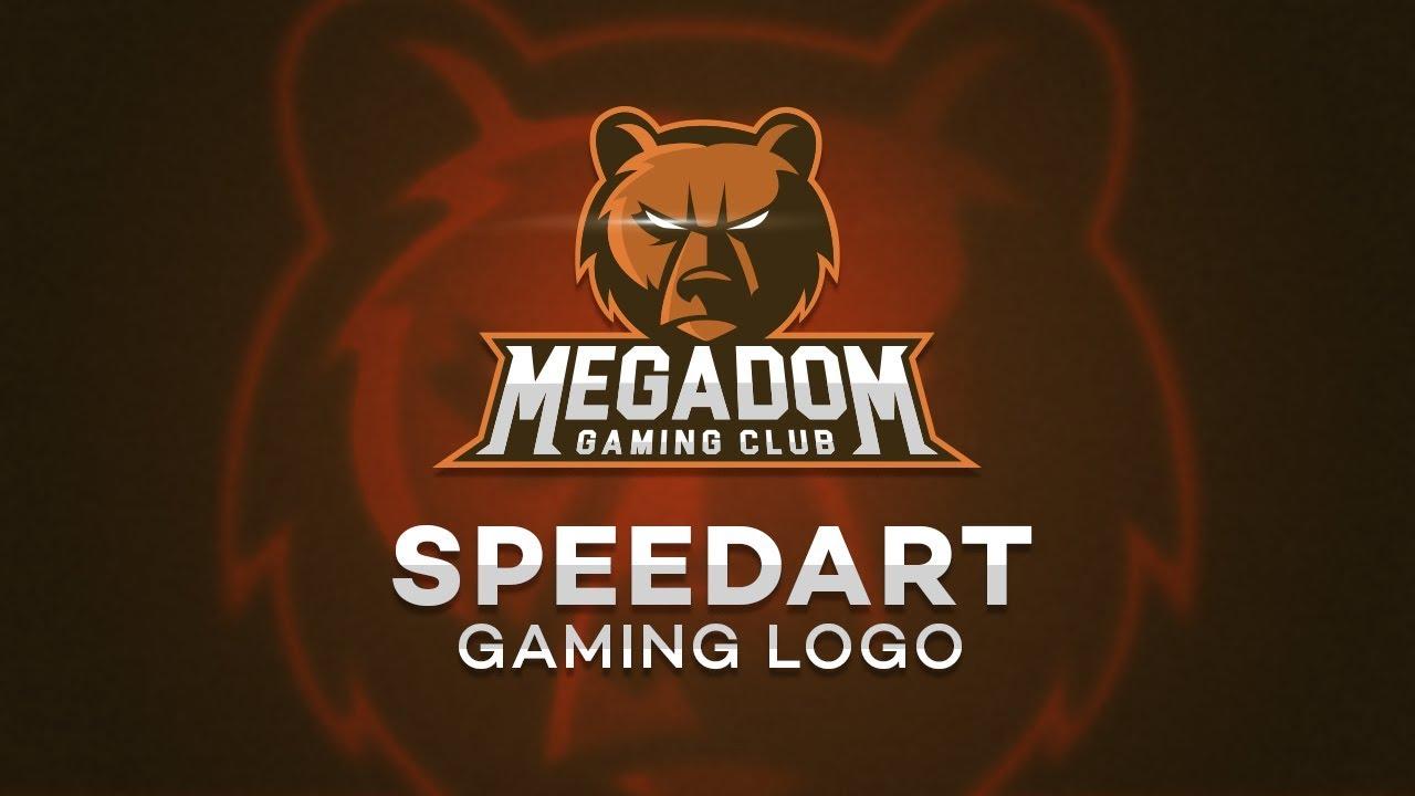 Adobe Illustrator Speed Art | Gaming Logo | Sports Logo | Logo Design Tutorial | Animal Logo