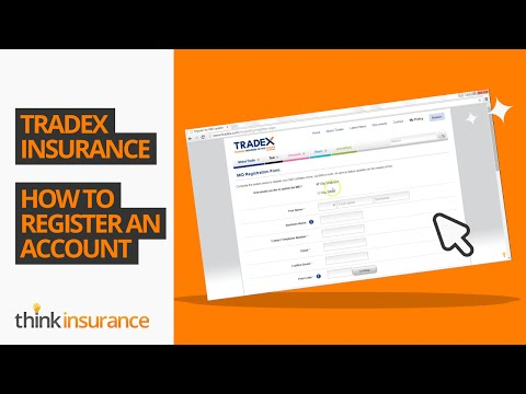 Tradex MID - How To Register an Account | Think Insurance