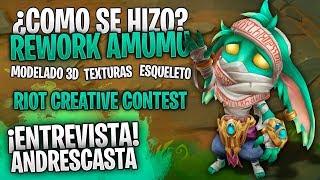 ¿Como se hizo? Rework Amumu (Fan Art) Riot Creative Contest | League of Legends