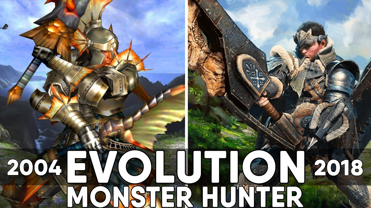 Monster Hunter Games   Evolution  2004 2018    YouTube Monster Hunter Games   Evolution  2004 2018