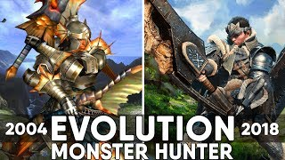 Monster Hunter Games - Evolution (2004-2018)