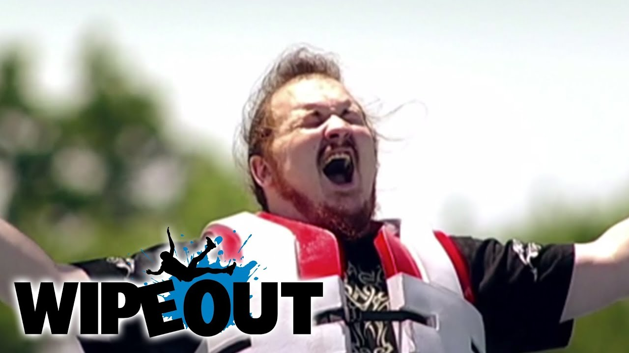 Hard Rocker Gets Knocked About | Wipeout
