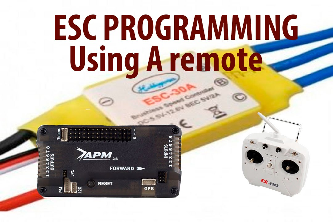 HOW TO PROGRAM HOBBYKING,HOBBYPOWER HOBBYSKY ESC WITH A REMOTE
