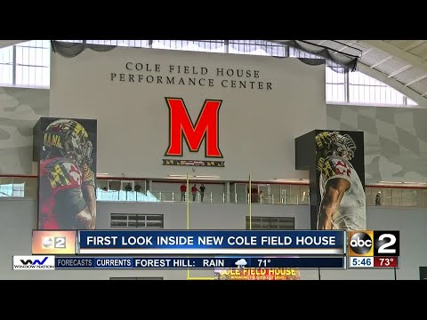 Inside New Cole Field House