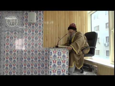 Şeyh Seyyid Muhammed Ustaoğlu Efendi Hz.'lerinin Cuma Sohbeti / GİKEV Vakıf Merkezi / 01.05.2015